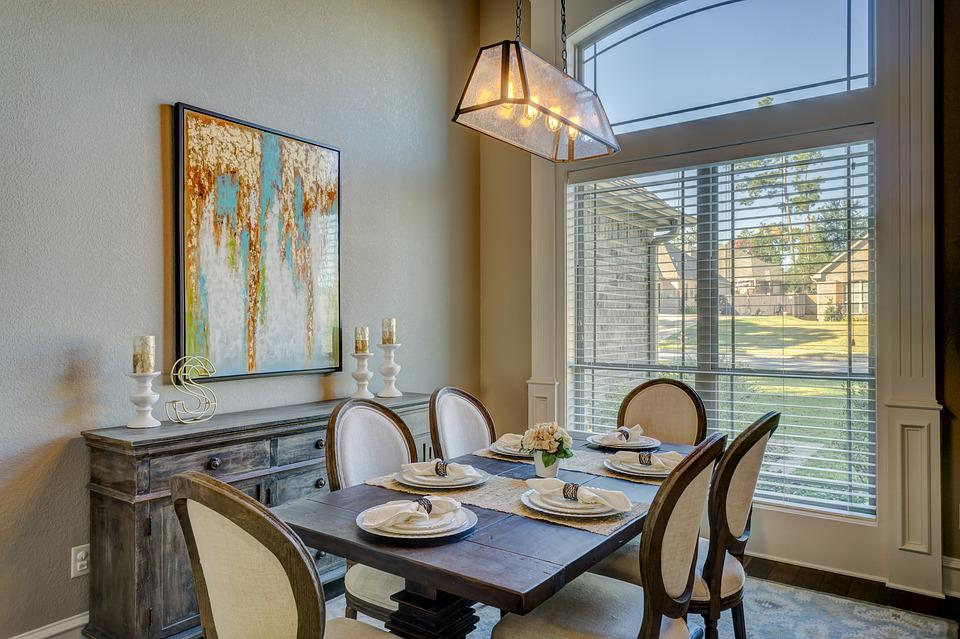 Dining Room, Dinner, Table, Room, Dining, Interior