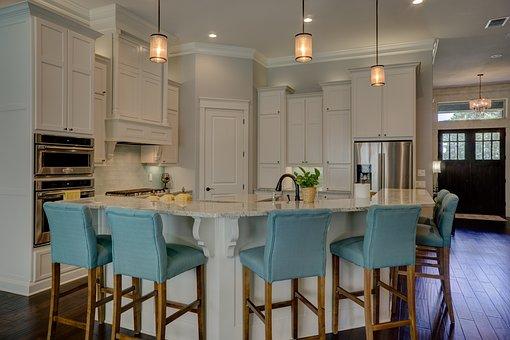 Kitchen, Interior, Home