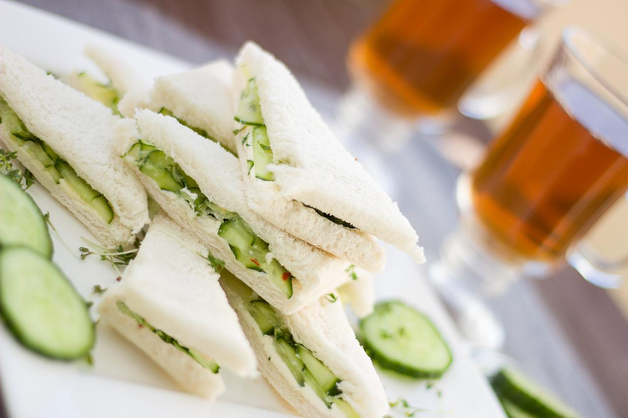 Cucumber Sandwich Snack - Free photo on Pixabay