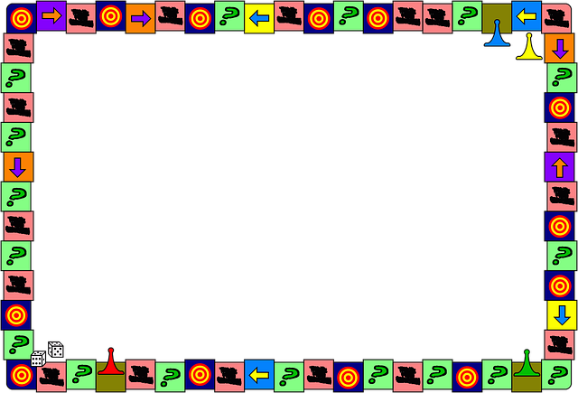 Board Game Dice Border 183 Free Image On Pixabay
