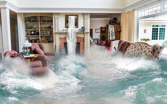 Flooding Surreal Living Room Design Fantas