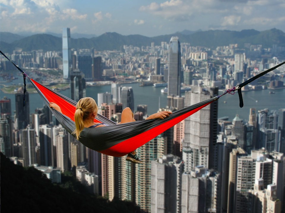 Hong Kong Hammock Girl 183 Free Photo On Pixabay