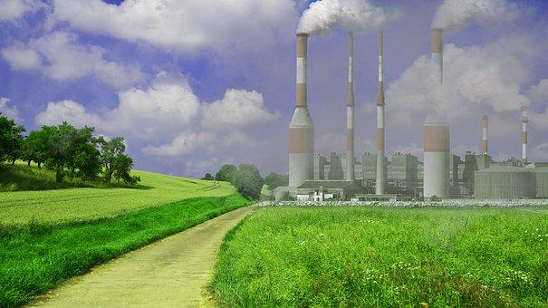 Zanieczyszczenia, Globalne Ocieplenie