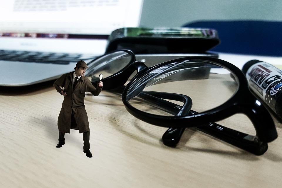 インスペクター, 検索, 犯罪, セキュリティ, オフィス, 保護, 情報, 監視, ガード, プライバシー