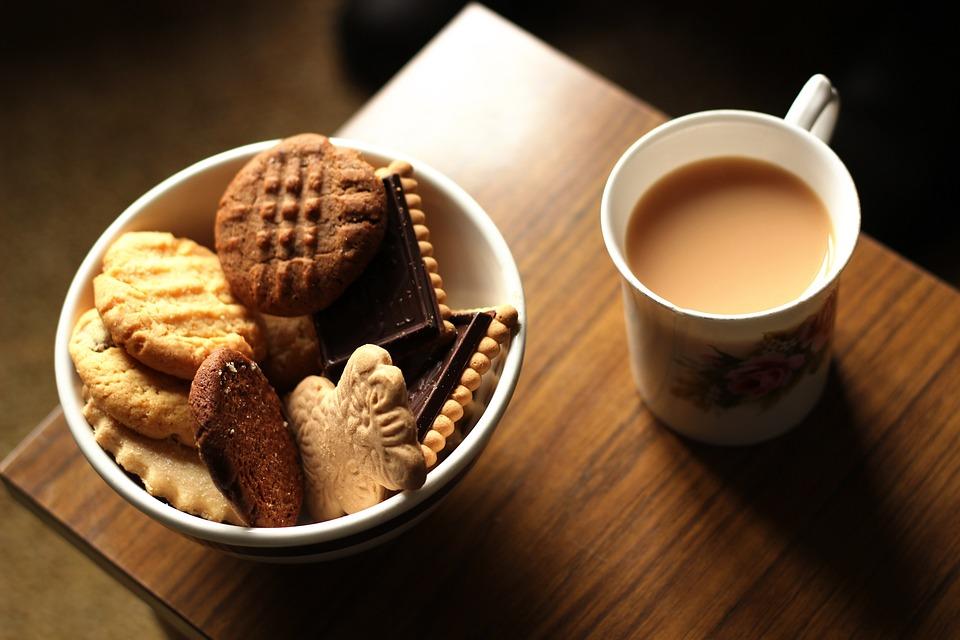 Por La Tarde, Galletas, Brown, Chocolate, Café