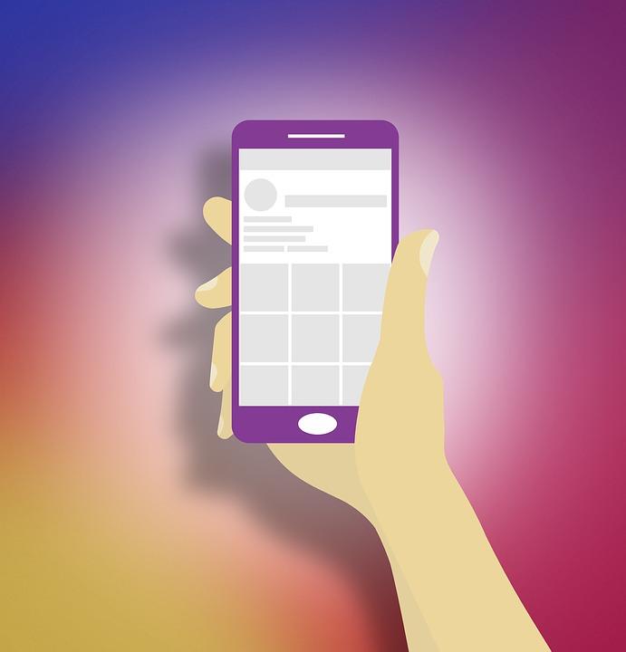 Instagram, Smartphone, Dessin, Téléphone Mobile, Coloré