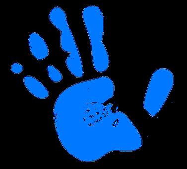 手, 再版, 手形, で, 指, 色, カラフル, ペイント, アート, 壁