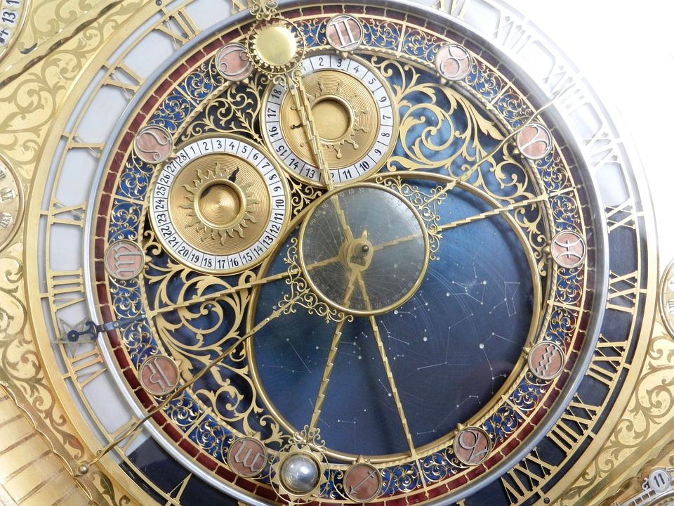 時計, 記念碑, 時計の盾, 時間, アーキテクチャ, 観光, チェコ共和国, ヒント, 時間の測定