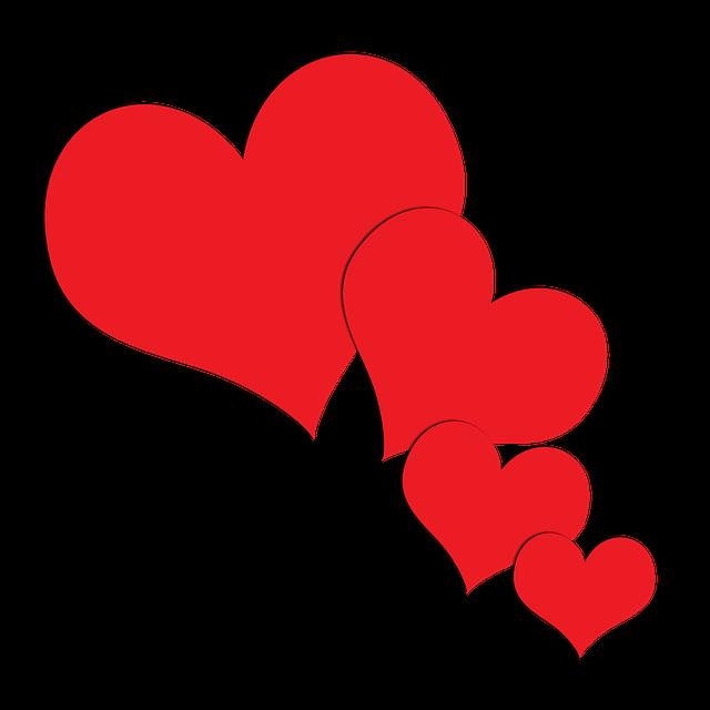 K rlek hj rta hj rtan gratis bilder p pixabay - Animale san valentino clipart ...