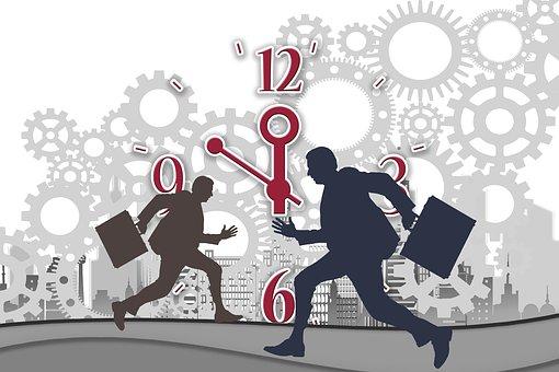 Stress, Businessmen, Businessman, Gears