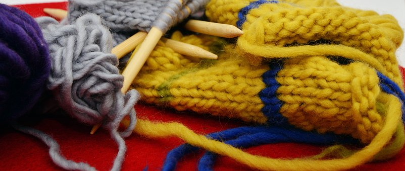 Knit, Wool, Knitting, Hand Labor