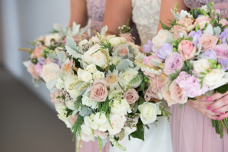 Wedding Flowers Bouquet Roses · Free photo on Pixabay