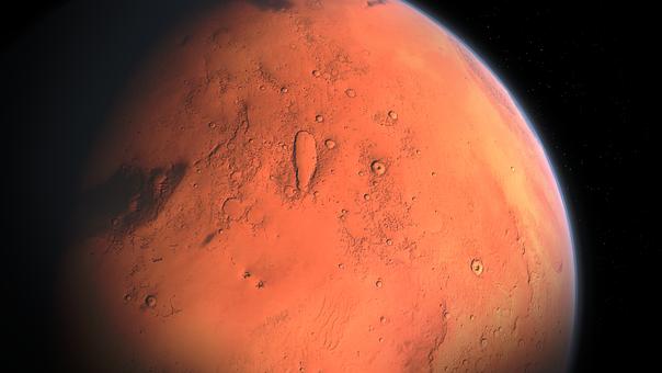 Mars Land Planet Cosmos Stars Infinity Pla