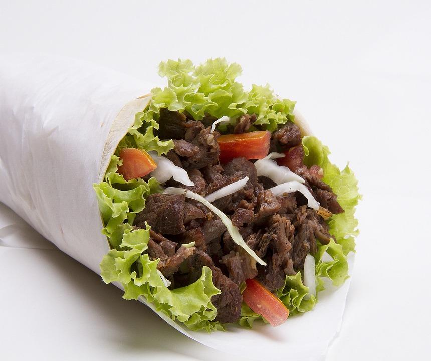 Kebab, Sandwich, De Porc, Alimentaire, Rapide, Repas