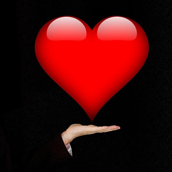Valentinstag, Herz, Hand, St Valentin, Verliebt, Lieben