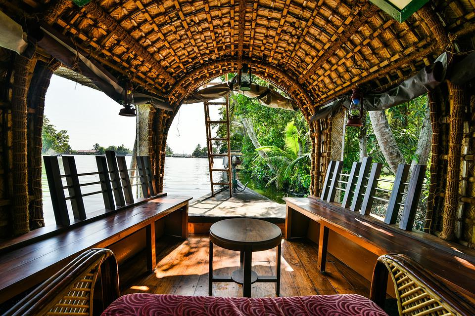 house boat, kerala, backwaters, kumarakom