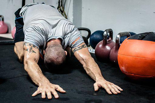 Kettlebell Stretching Fitness Crossfit Fit