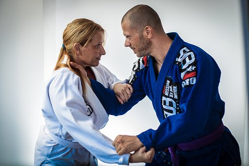 Brazilian Jiu Jitsu, Bjj, Male, Female