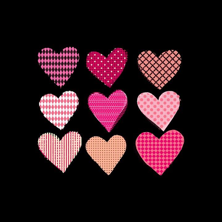 Sevgililer Günü Hart El Boyama Pixabayde ücretsiz Resim