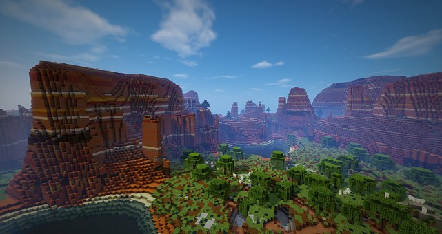 100 Free Minecraft Video Game Images Pixabay