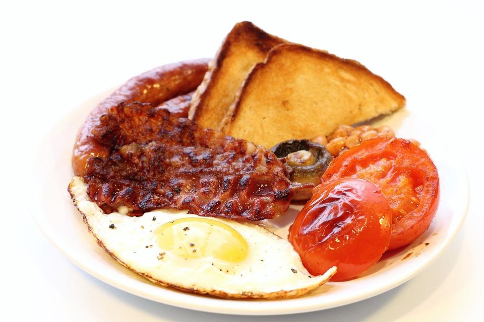 Mangiare, Prima Colazione, Pancetta Affumicata