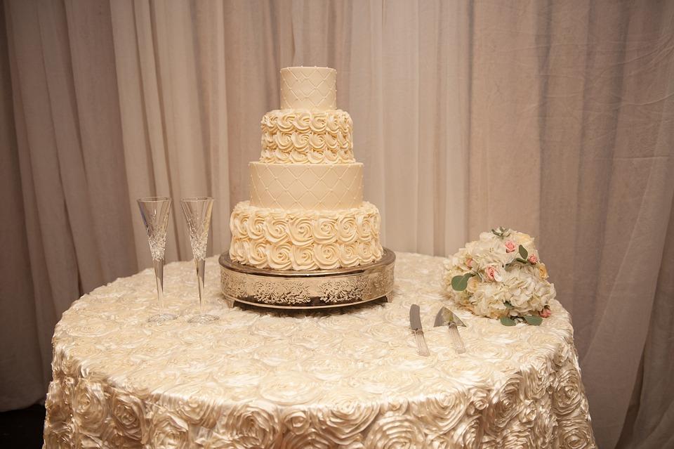 Wedding Reception Cake Free Photo On Pixabay
