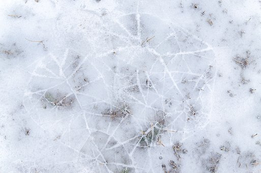 Pattern, Winter, Cold, Ice, Blue