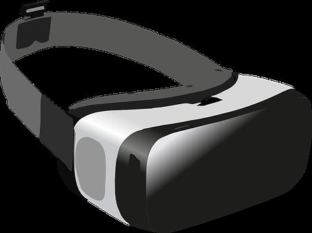 虚拟, 现实, 播放, 眼镜, 虚拟世界, 模拟, 球员, 虚拟现实