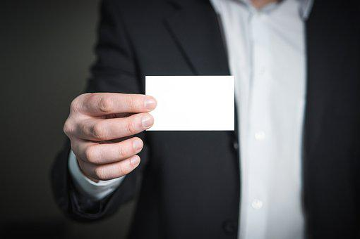 Business Card, Business, Card, Man