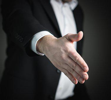 Handshake, Hand, Give, Business, Man