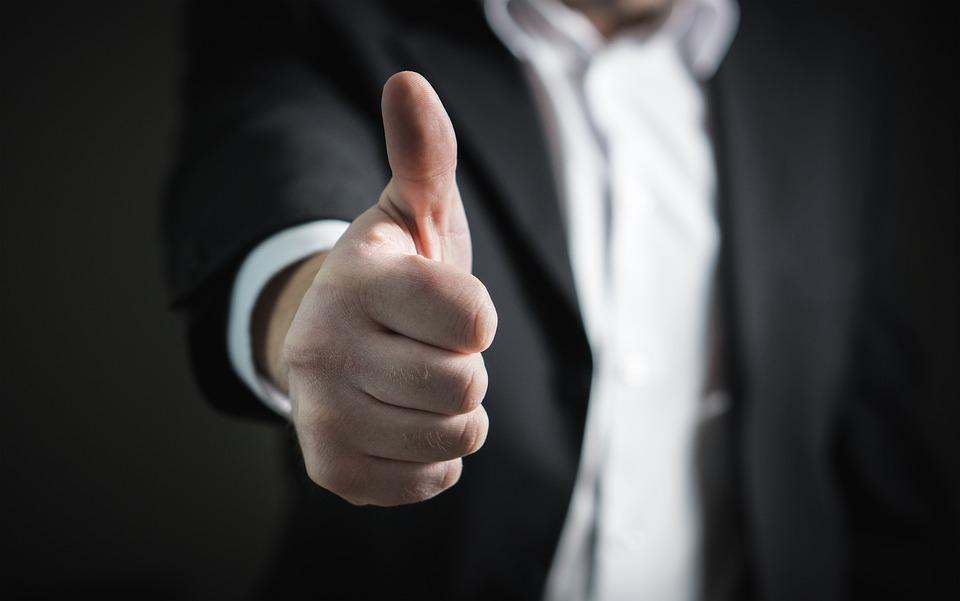 thumbs up okay good well · free photo on pixabay