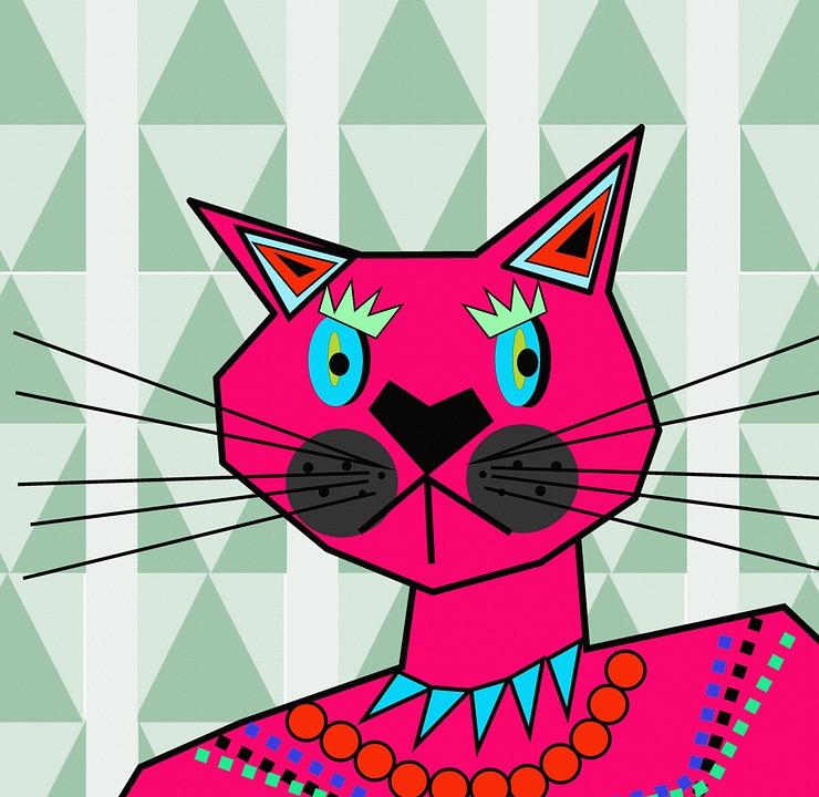 Kocka Kresleni Zvire Obrazek Zdarma Na Pixabay