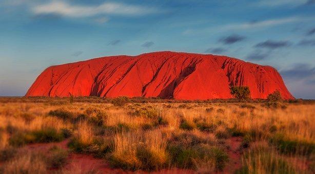 Uluru, Australia, Monolith, Uluru