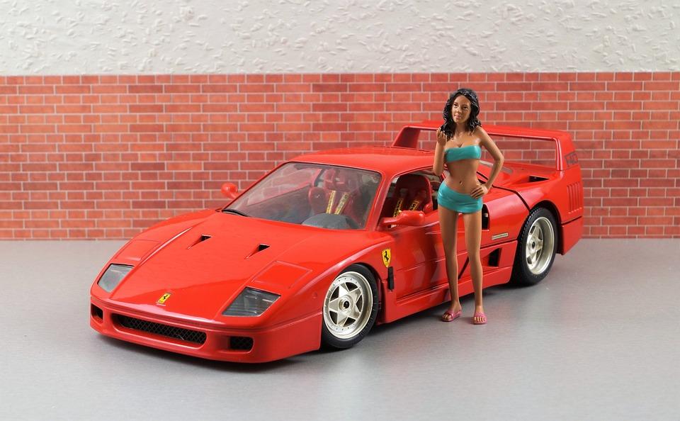 Model Car Ferrari F40 · Free photo on Pixabay