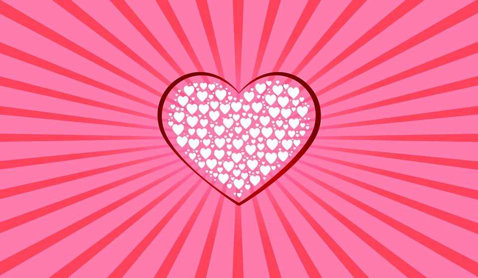 Cuore Sfondo Rosa Cuori Immagini Gratis Su Pixabay