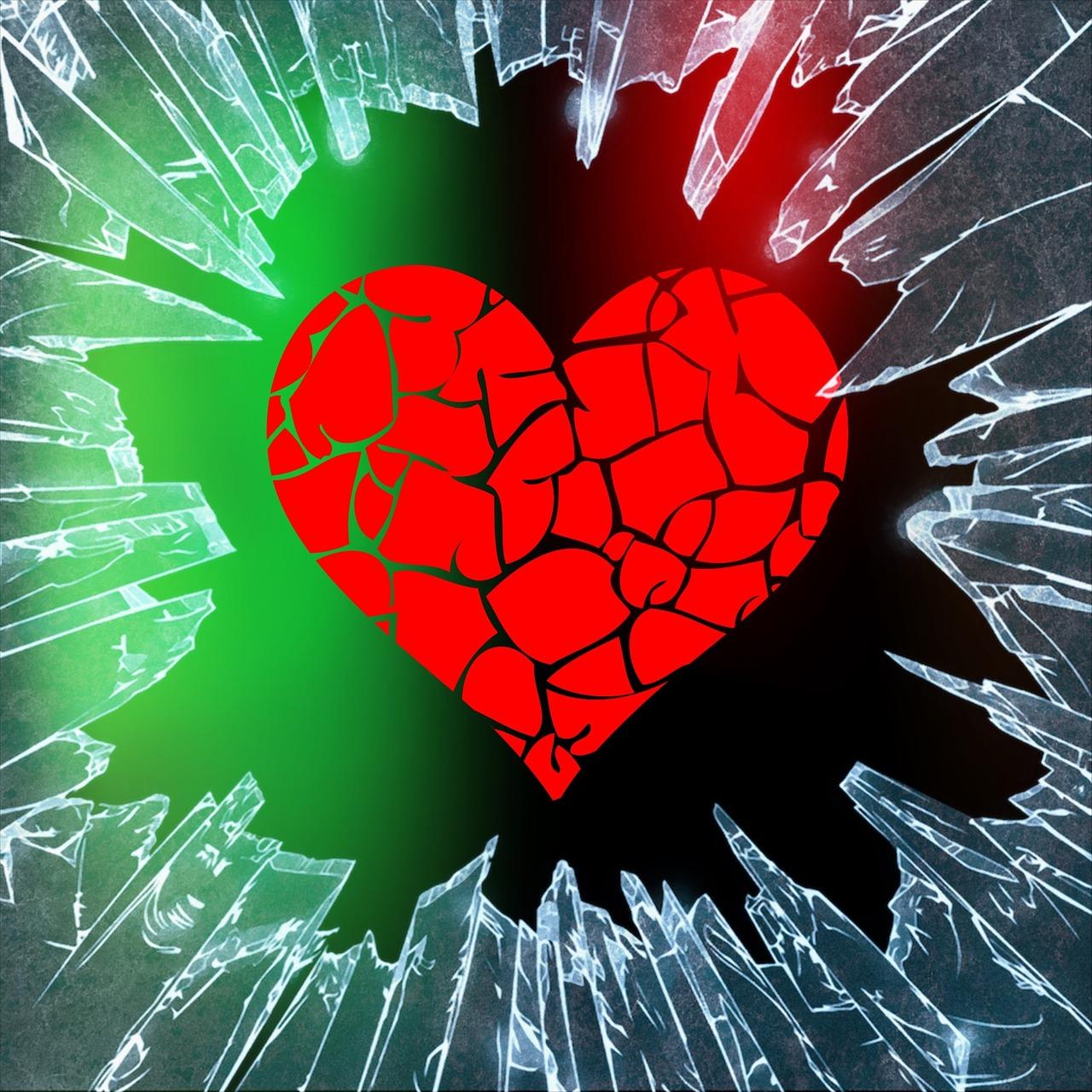 Картинки на аву разбитое сердце