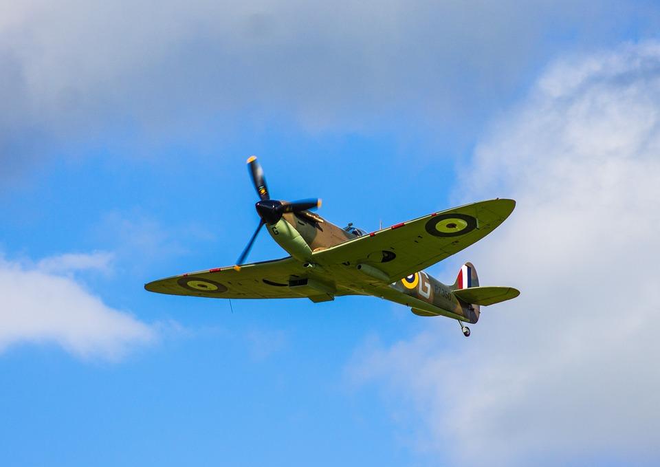 Plane Spitfire War - Free photo on Pixabay
