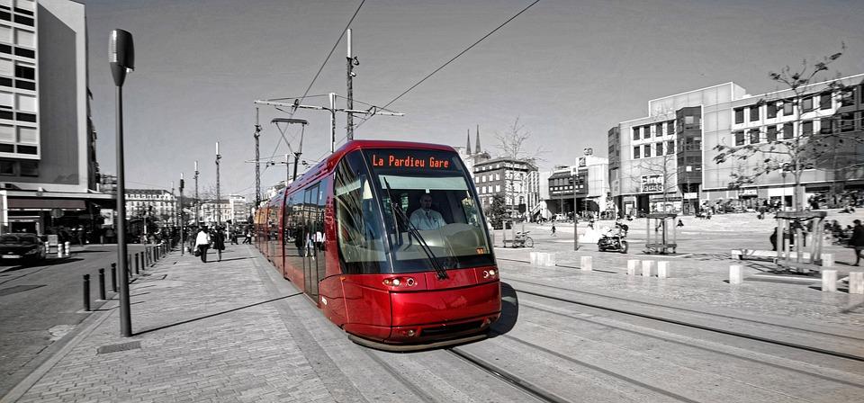 Tramway, Clermont Ferrand, Transport En Commun