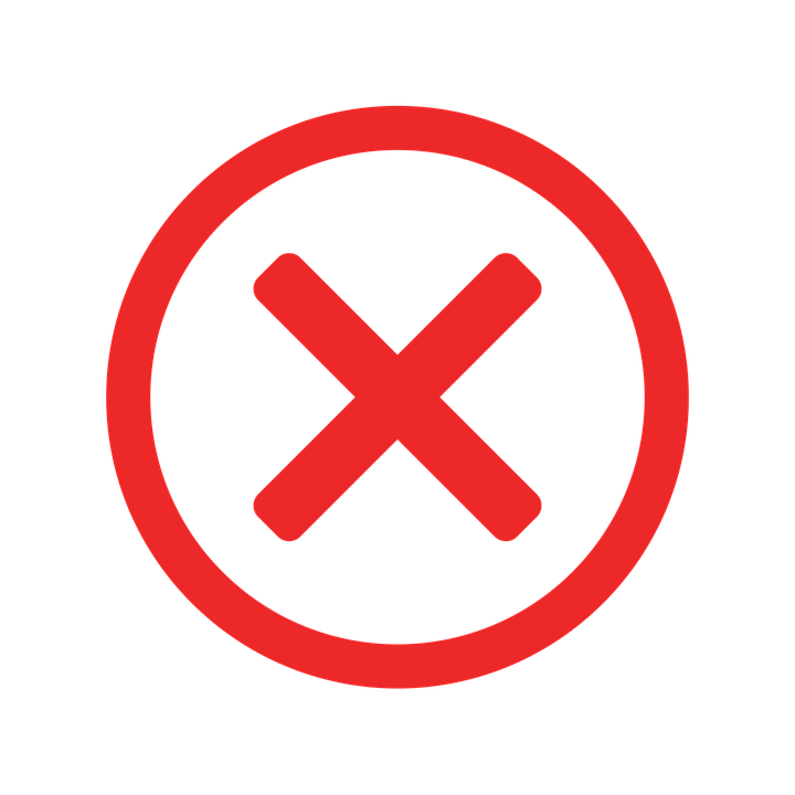 false error missing free vector graphic on pixabay