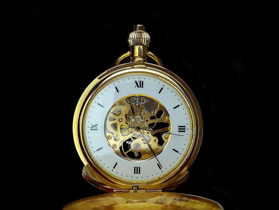 Карманные Часы, Время, Часы, Старый, Часов, Циферблат