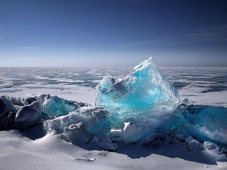 La Glace, Iceberg, Masses De Glace