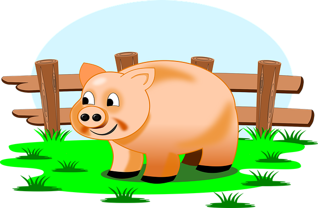 free vector graphic  farm  piggy  field  creation - free image on pixabay