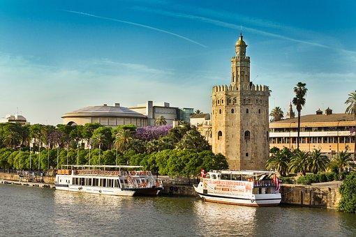 Gouden Toren, Guadalquivir, Sevilla