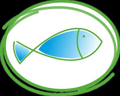 Fisch, Taufe, Kommunion, Kirche