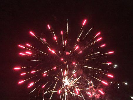 Fireworks, Fire Works, Night