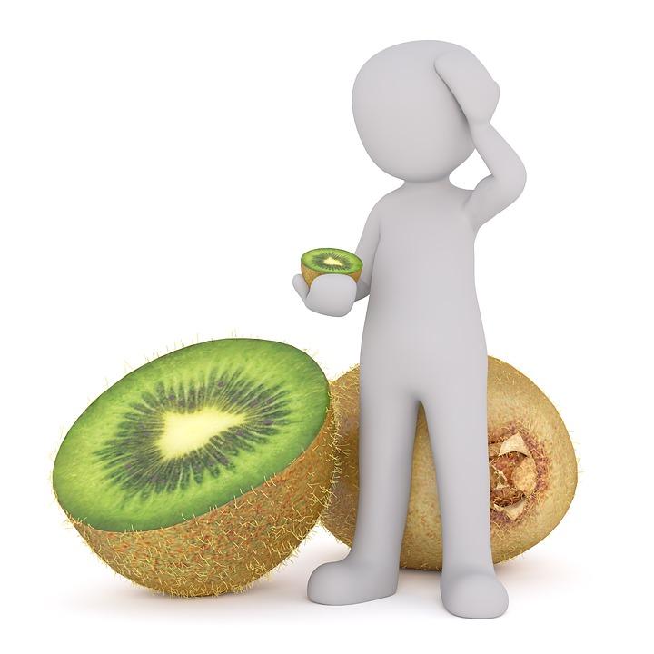 Purchasing, Food, Kiwi, Green, Vitamins, Healthy, Cook