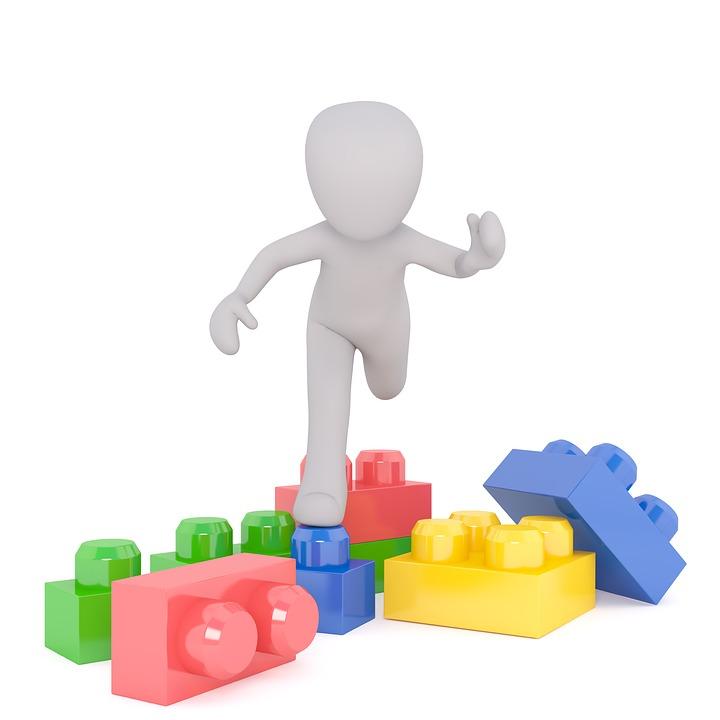 Bausteine, Spielzeug, Architektur, Spielbausteine
