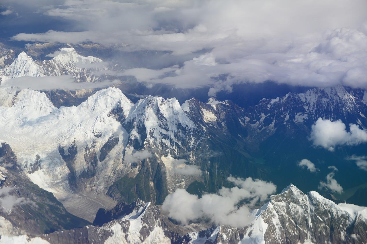Картинки гор с птичьего полета