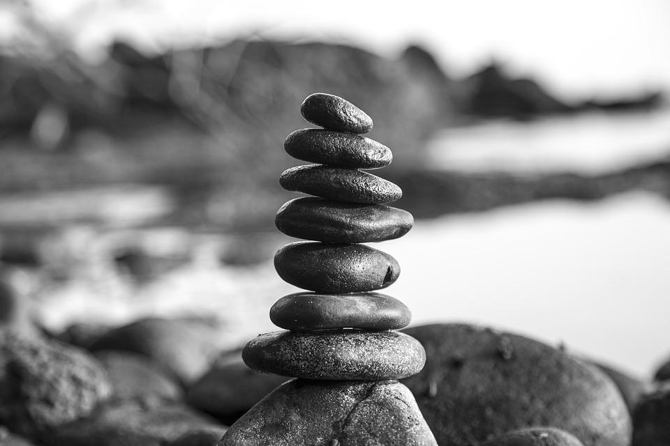 stones black and white tower free photo on pixabay