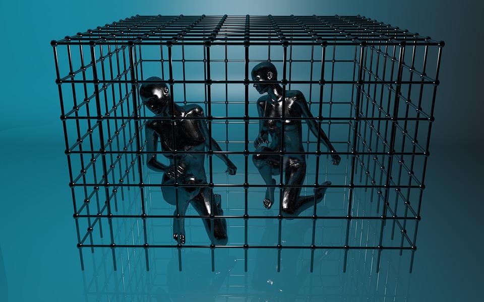 Uwięziony, Cage, Psychologia, Sieci, Niewoli